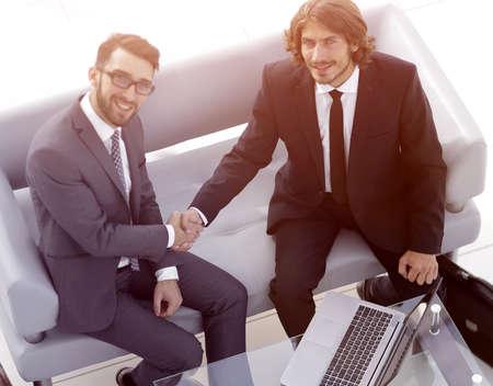 handshake successful business people Stock Photo
