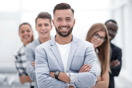 Portrait of business team Stock fotó