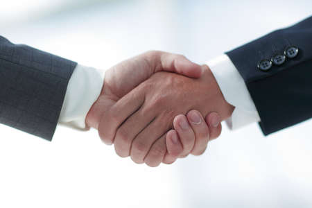 closeup.handshake of business partners