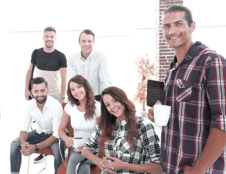 group portrait of the creative team