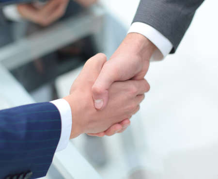 close up.financial partners handshake Zdjęcie Seryjne