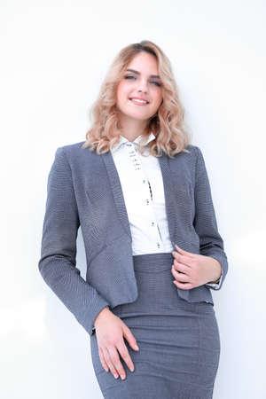 confident modern business woman.