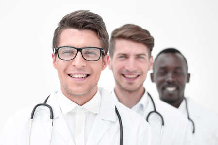 group of professional physicians