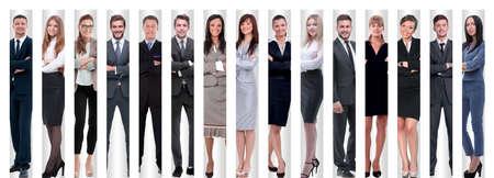 w pełnym wzroście. grupa odnosi sukcesy młodych przedsiębiorców
