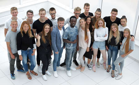 group of diverse young people looking at the camera Reklamní fotografie