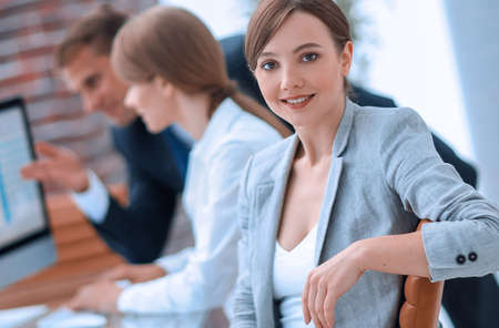 portrait of successful business women in the workplace Stock fotó