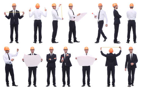 collage of various photos of a successful modern man