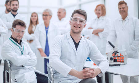 best researcher and his colleagues in the workplace