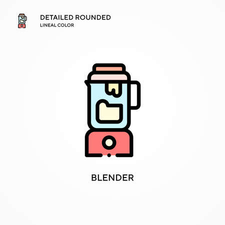 Blender vector icon. Modern vector illustration concepts. Easy to edit and customize. Illusztráció