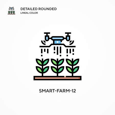 Smart-farm-12 vector icon. Modern vector illustration concepts. Easy to edit and customize.
