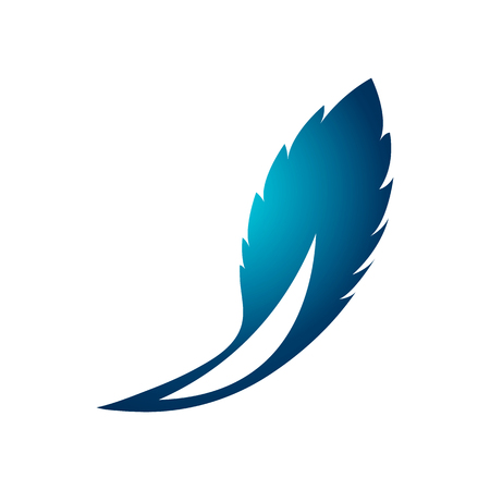 leaf logo template in the form of abstract.