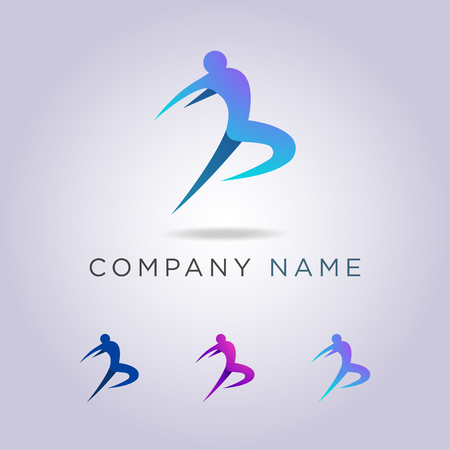 logo templates people are jumping your business and company.