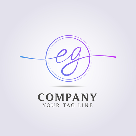 letter logo template for your business and company. Illusztráció
