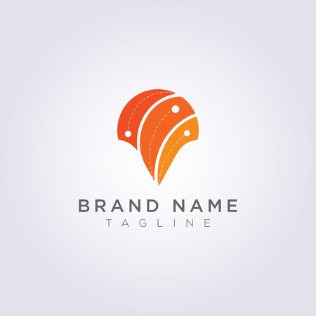 Design abstract destination symbol logos for your business or brand.