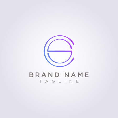 Luxury CS style letter logo design for your Business or Brand.