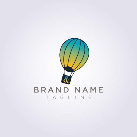 Disegna palloncini colorati per la tua azienda o il tuo marchio.