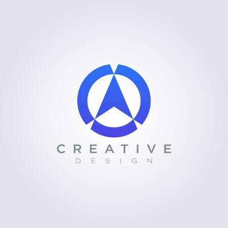 Boussole Vector Illustration Design Clipart Symbole Logo Modèle.