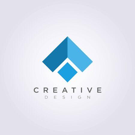 Toit Maison Abstract Vector Illustration Design Clipart Symbole Logo Modèle.