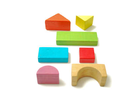 Toys Blocks Multicolor Wooden Bricks Children Colorful Building Amazing Wooden Bricks Game