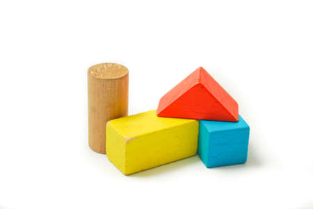 Toys Blocks Multicolor Wooden Bricks Children Colorful Building Stunning Wooden Bricks Game
