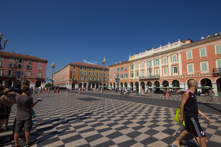 The main square in Nice, Cote d