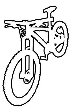 mtb: Mountain Bike Outline