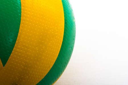 indoor background: modern sport ball on a white background