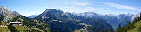 berchtesgaden: Breathtaking mountain scenery in the Berchtesgaden Alps in Germany