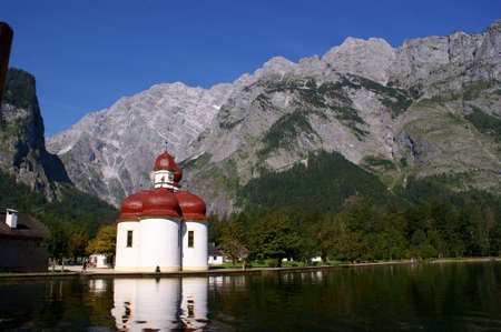 The Chapel St. Bartholomae in Bavaria, Germany Stock Photo - 8685539
