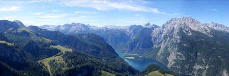 berchtesgaden: The Koenigssee in the Berchtesgaden Alps