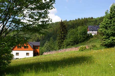 erzgebirge: Idyllic Erzgebirge in Germany