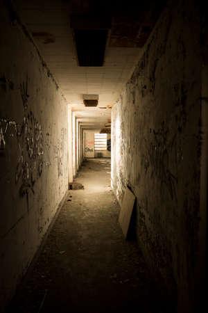 psych: Abandoned Hallway