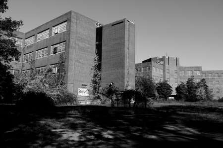 psych: Abandoned Building