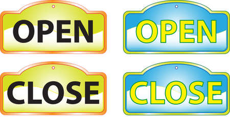 re: Open Close signs