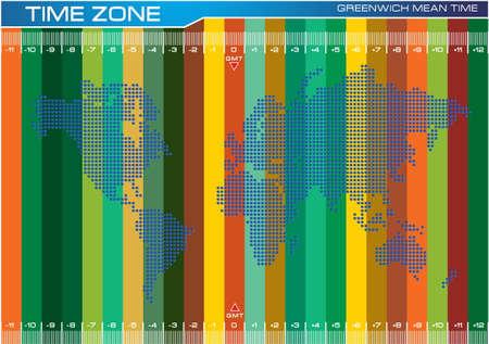 modificar: colorear punteada mapa del mundo ilustración completa, por el contenido de Internet, folleto, cartel. fácil de modificar