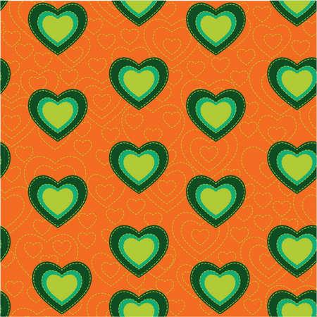 hintergrund liebe: Valentine heart nahtlose Muster Hintergrund Liebe Zeichen, f�r Internet-Inhalte, Dekoration. einfach zu �ndern