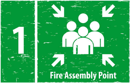 assembly point: Fire assembly point