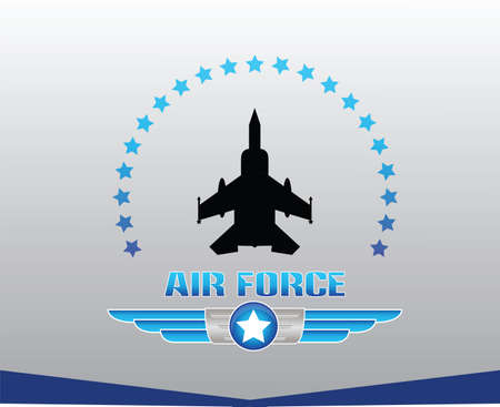 air power: air force illustration Illustration