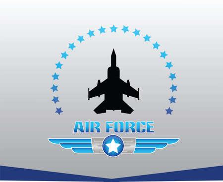 air force illustration Illustration