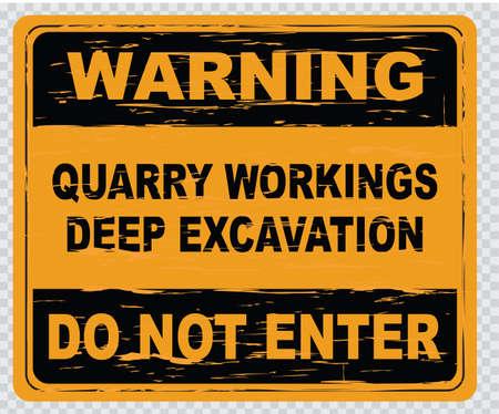 construction safety: deep excavation