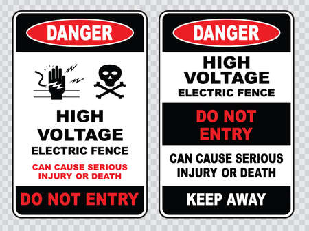 voltage sign: high voltage sign or electrical safety sign high voltage inside do not open high voltage within keep out do not touch.
