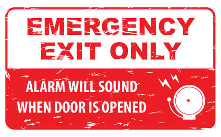 emergency exit: emergency exit Sign fire exit emergency exit fire assembly point evacuation lane.