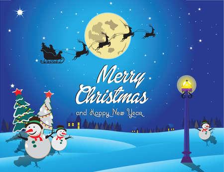 modificar: Feliz Navidad y feliz año nuevo fondo. adecuado para la impresión, tarjetas postales, carteles, portada. fácil de modificar Vectores