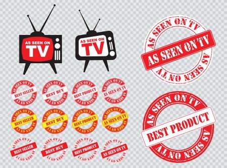 Collection comme vu sur l'icône TV, facile à modifier