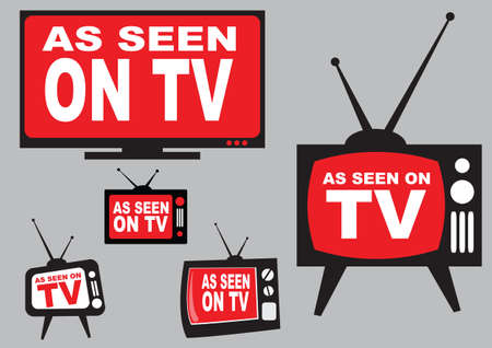 modify: Collection of as seen on TV icon, easy to modify