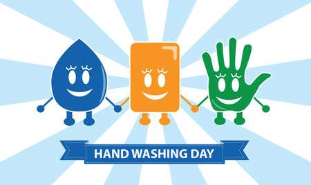 Lavez vos mains Signes