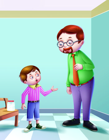 johny: Johny Johny Yes PapaIn this poem a conversation is going on between father and the son. The father is asking about the child whether he has eaten sugar or not.