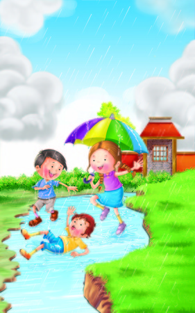 rhyme: Rain Rhyme for Kids