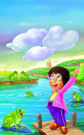 rhyme: Kale Kale badal Aaye Nursery Rhyme  Black Clouds Nursery Rhyme