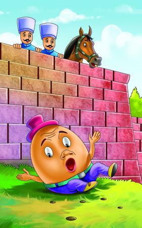 rhyme: Humpty Dumpty Set on a Wall Rhyme